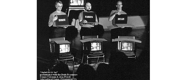 Ballet Digital - Live performance - with Joe D'Agostino , Richard Harkness, Bob  Massey- Festival of World Cinema 1989