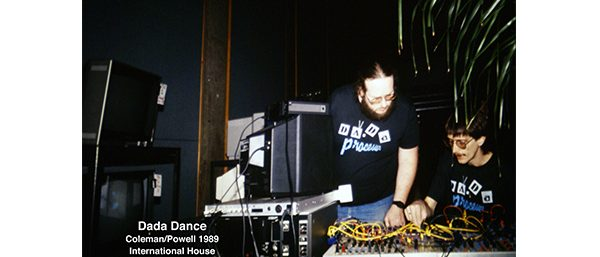 DADA Dance - Live video performance with David Jones and Steve Bueret- 1989-International House Philadelphia PA