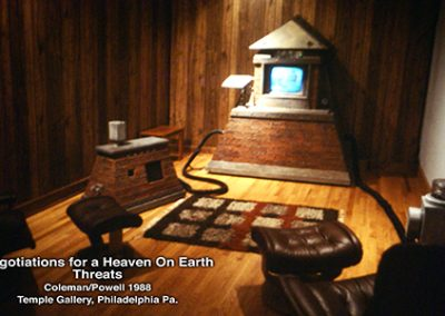 Threats: Negotiations for a Heaven on Earth- 1988