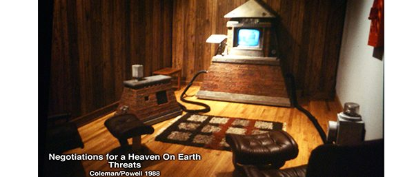 Negotiations for a Heaven on Earth: threats - 1985-1988, Temple University