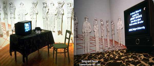 Song & Dance - 1987-1993 -video and 24 drawings