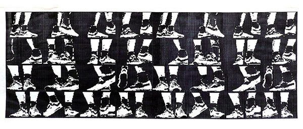 Connie Coleman: Dancing Feet - print. Produced, software by . 1984