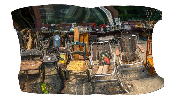 """Main Street Yard Sale"" 24"" X 30"" archival inkjet print"
