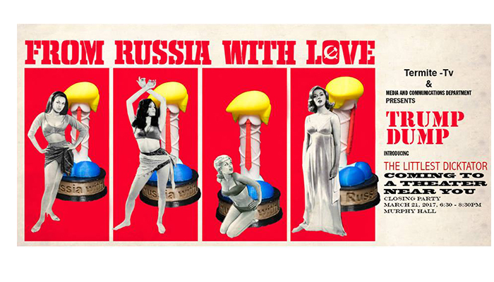 From Russia with Love - poster design Juliana Fernandes