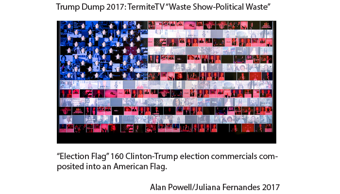 And I Approve this Message: Video by Alan Powell and Juliana Fernandes. 160 composited election commercials