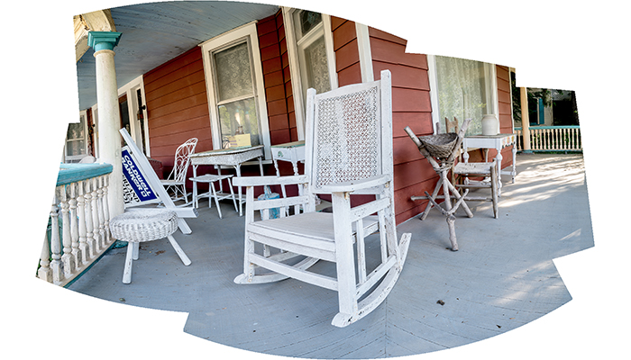 """White Rocking Chair""16"" X 20"" archival inkjet print"