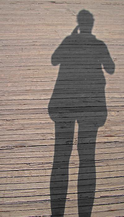 Connie Coleman- Shadow on Boardwalk -2008