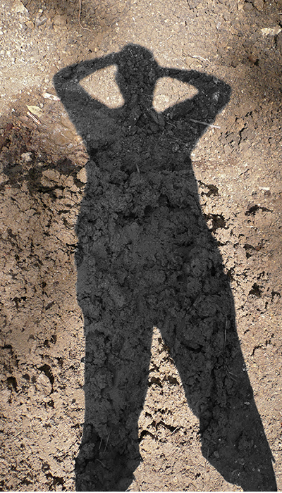 Connie Coleman- Shadow on Mud-2008