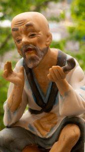 Grand Father Buddha with Pipe, hal Vuong, alanpowell photograper